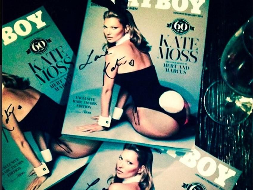 Kate Moss za Playboy