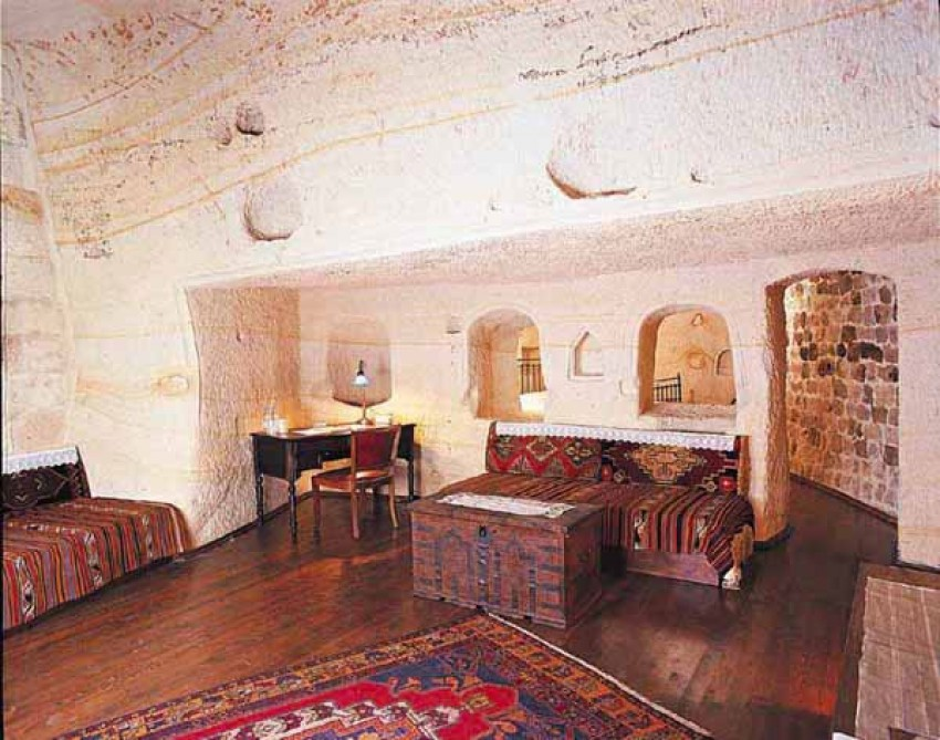 """Cave Dwelling For Rent"" (Kandovan, Iran)"