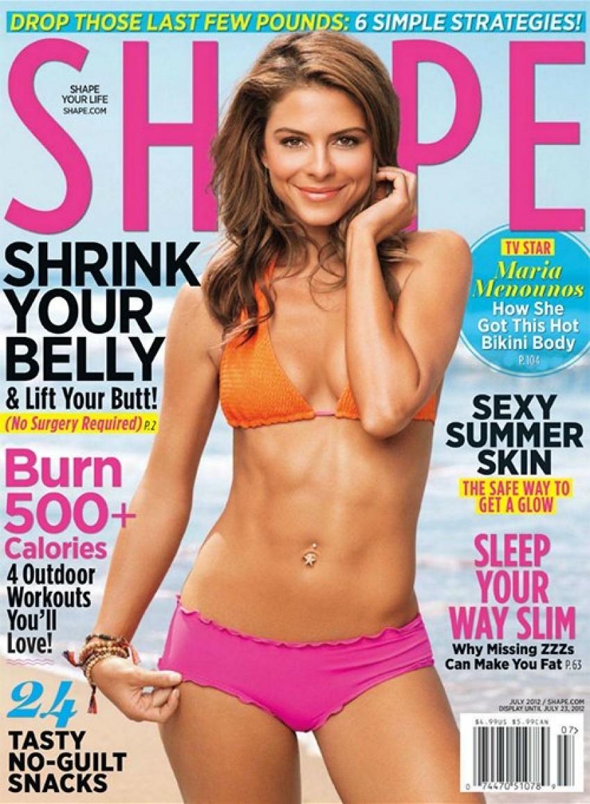 Maria Menounos, Shape Magazin