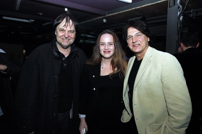 Zdravko Čolić, Katarina Sučić i Miroslav D. Rus