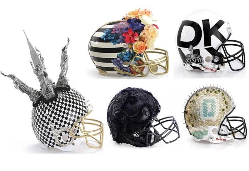 Dizajnerske kacige za Super Bowl