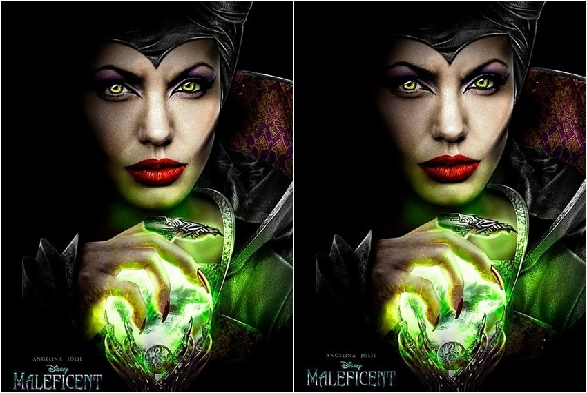 Maleficent s Angelinom Jolie