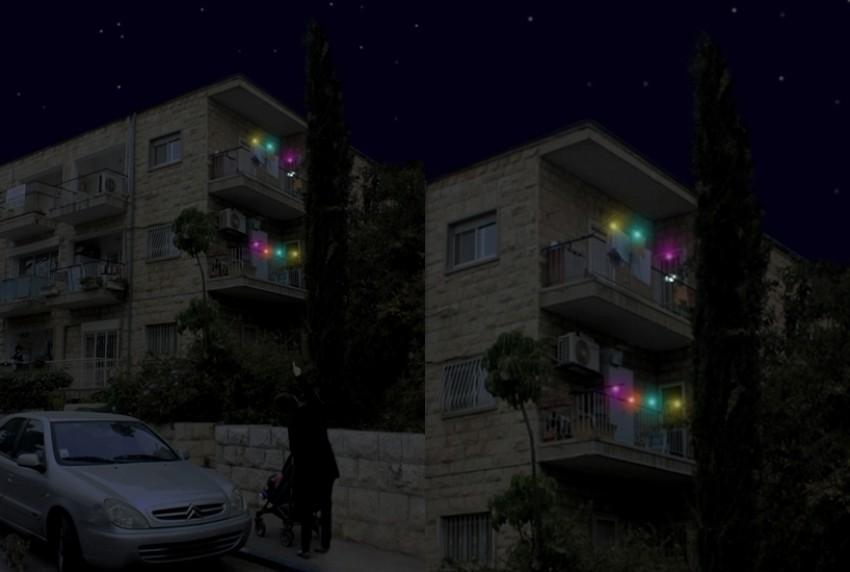 Kvačice za sušenje rublja koje svijetle u mraku