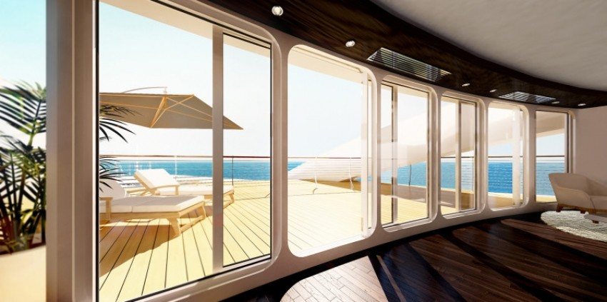 Sunborn Gibraltar hotel/brod