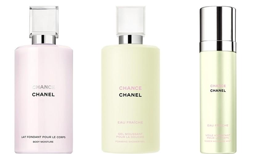 Chanel Chance proizvodi za njegu tijela