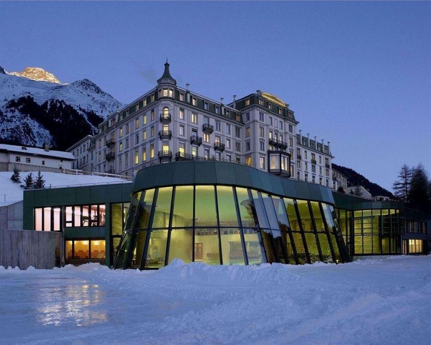 Grand Hotel Kronenhof, Pontresina, Švicarska