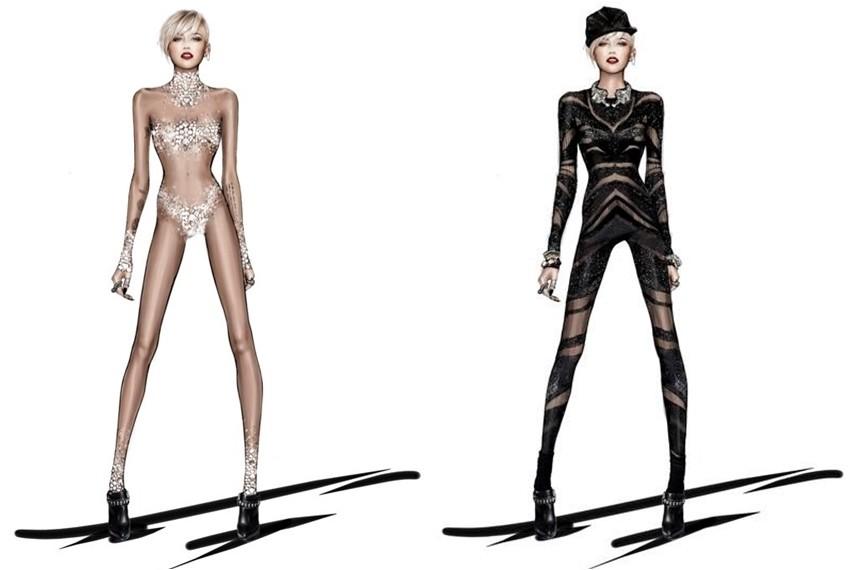 Roberto Cavalli za turneju Miley Cyrus