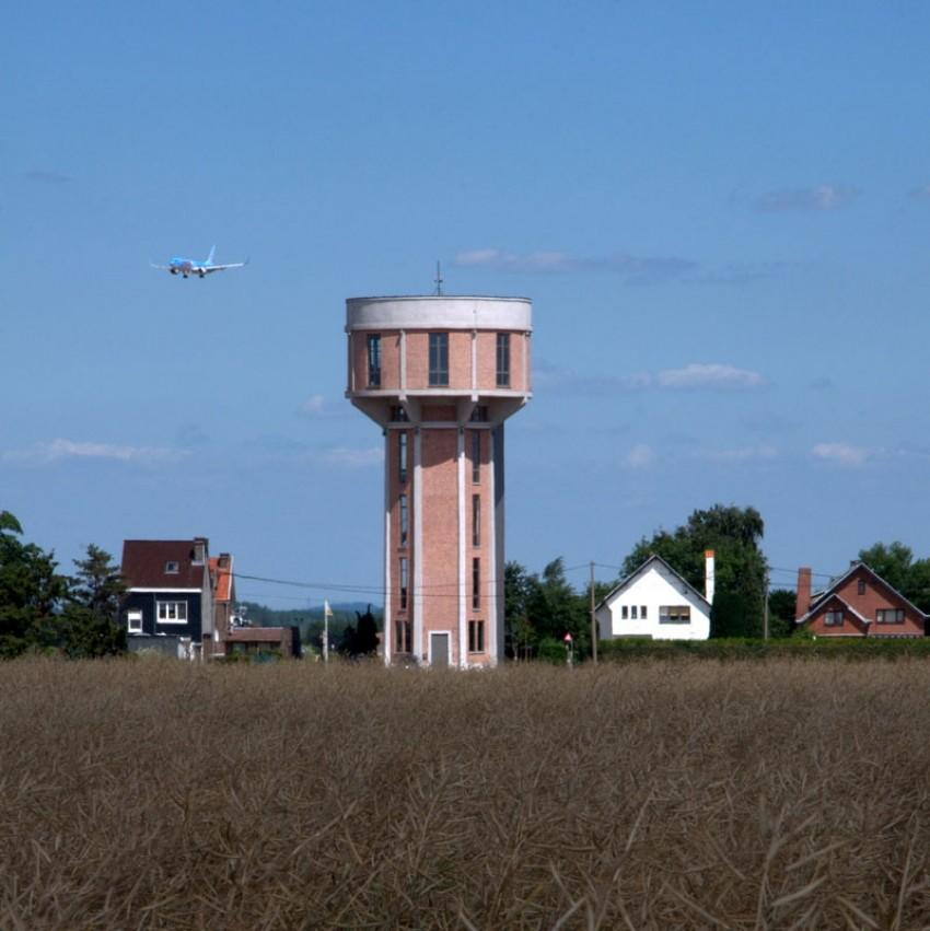 Vodeni toranj pretvoren u obiteljsku kuću u Belgiji