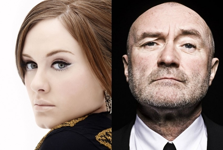 Adele i Phil Collins