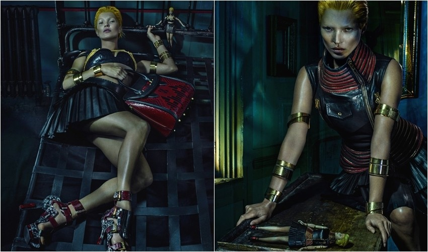 Kate Moss za Alexander McQueen s/s 2014