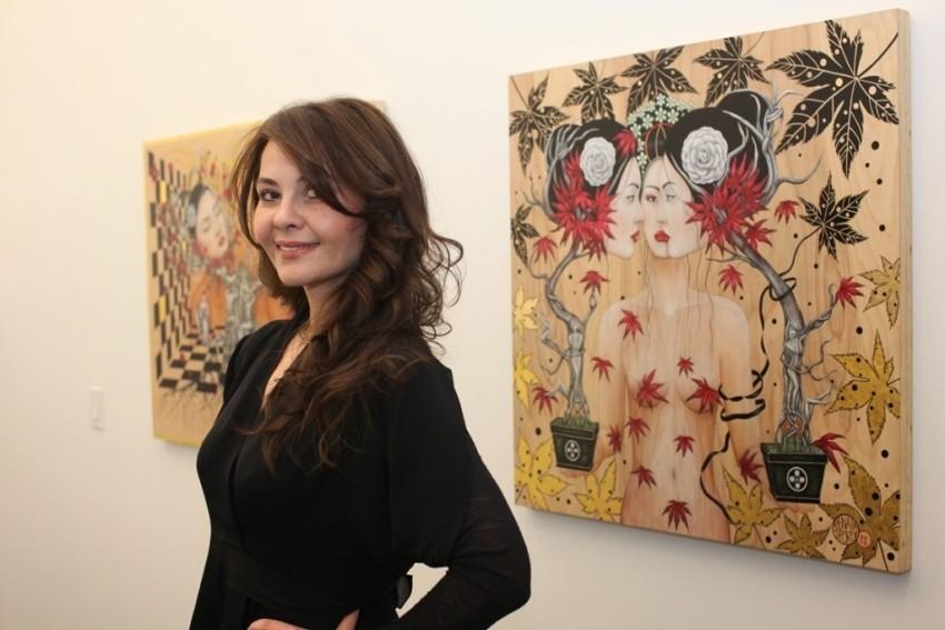 Umjetnica Renata Sporičić u New Yorku