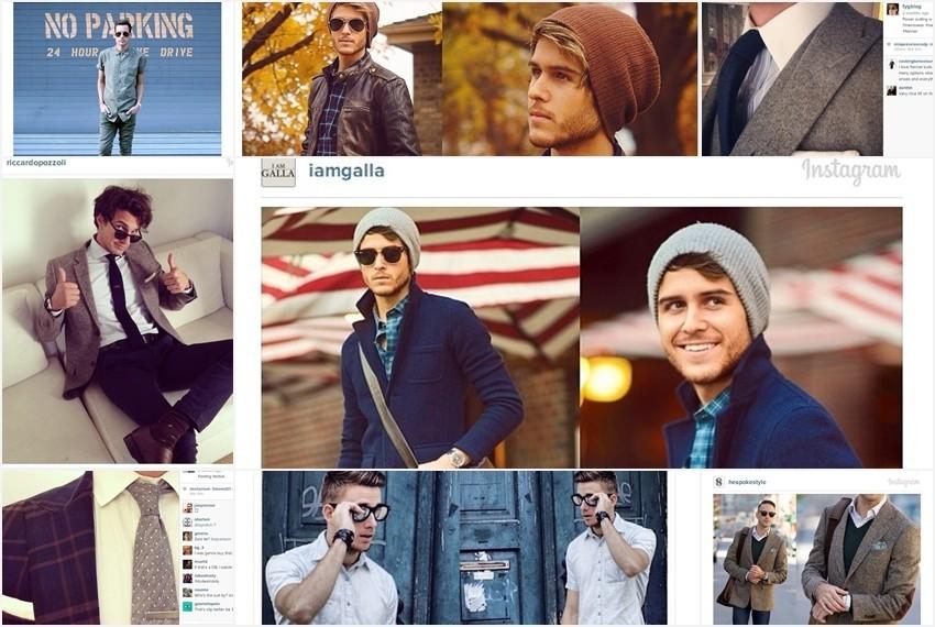 Najstylish muškarci Instagrama