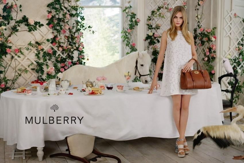 Mulberry čajanka Care Delavigne- proljetnakampanja