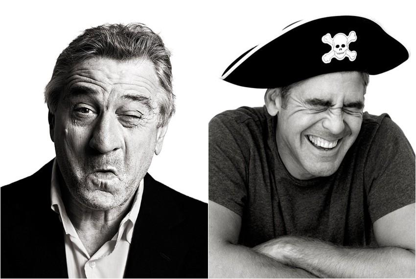 Robert De Niro i George Clooney