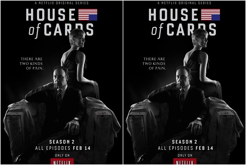 House of cards najava, Netflix serija Kuća od karata