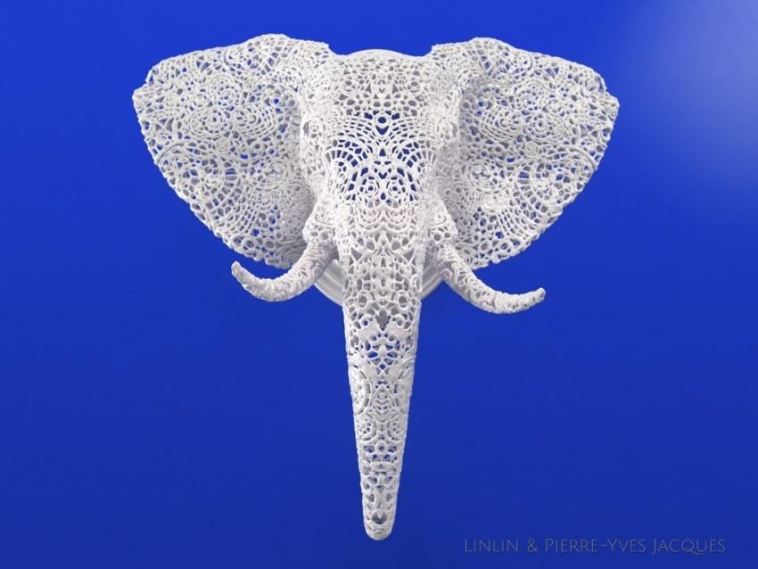 Životinjske 3D printane skulpture