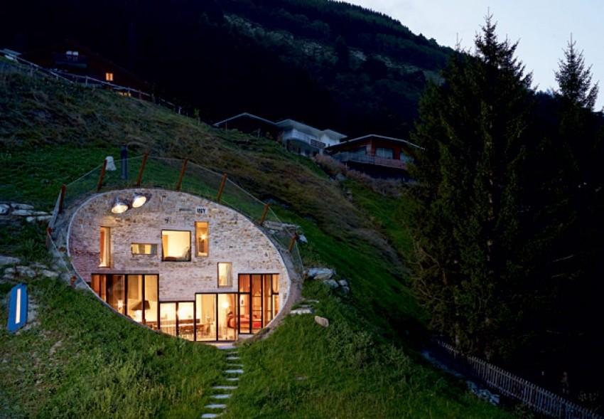 """""""Hobbite Home"""" (Vals, Švicarska)"""