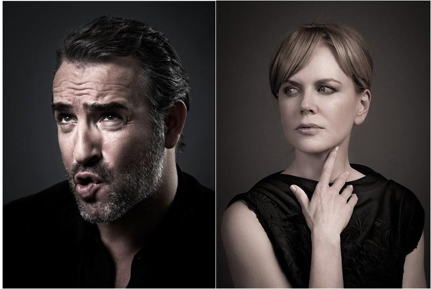 Nicole Kidman i Jean Dujardin
