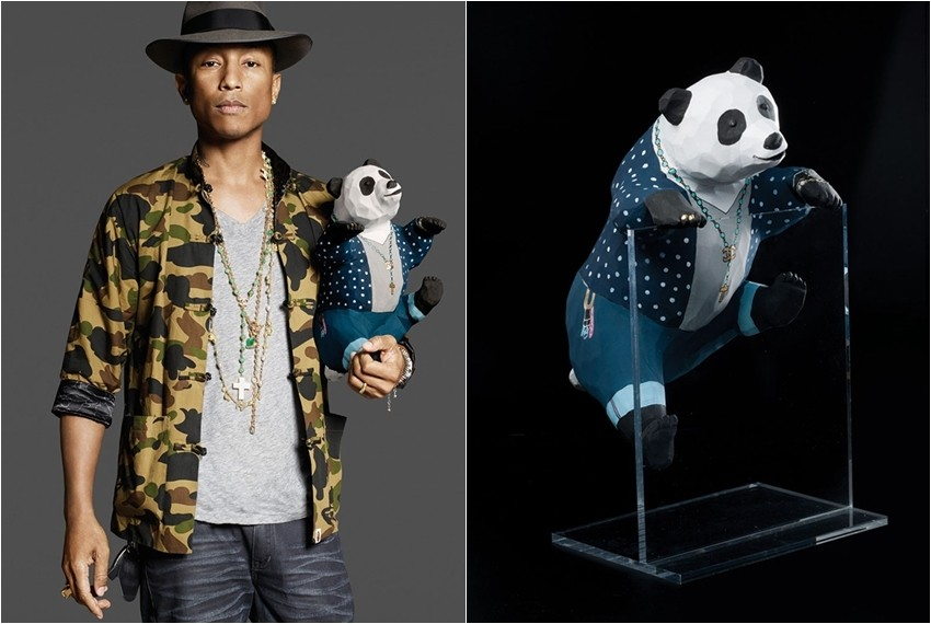 Panda Pharell Williamsa