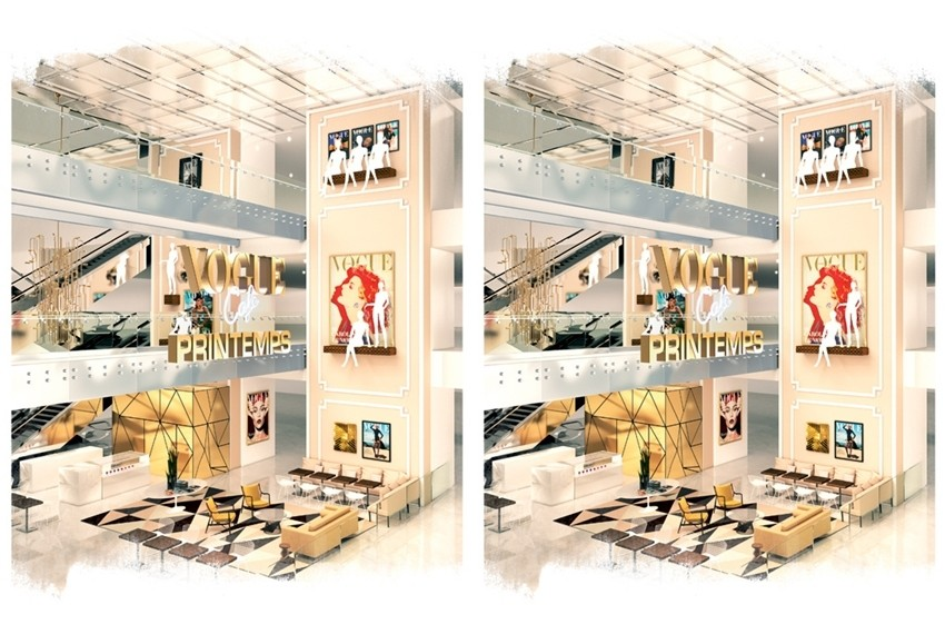 Vogue Cafe u Printemps robnoj kući