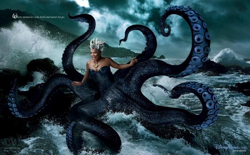 Queen Latifah kao zločesta Ursula iz Male sirene