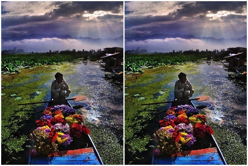 Ribari, prodavači cvijeća, poljoprivrednici su glavna inspiracija za fotografa