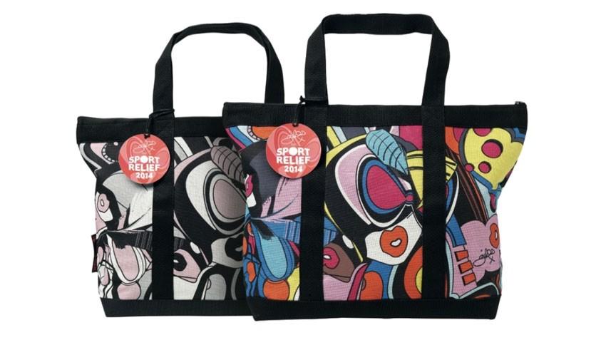 Gil Deacon dizajnirao torbe za Sport Relief