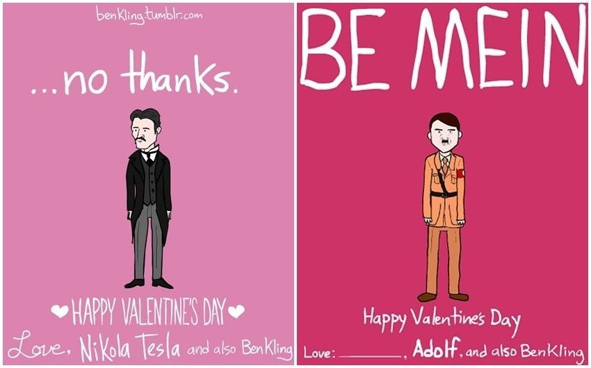 Editors pick: Šaljive čestitke za Valentinovo by Ben Kling