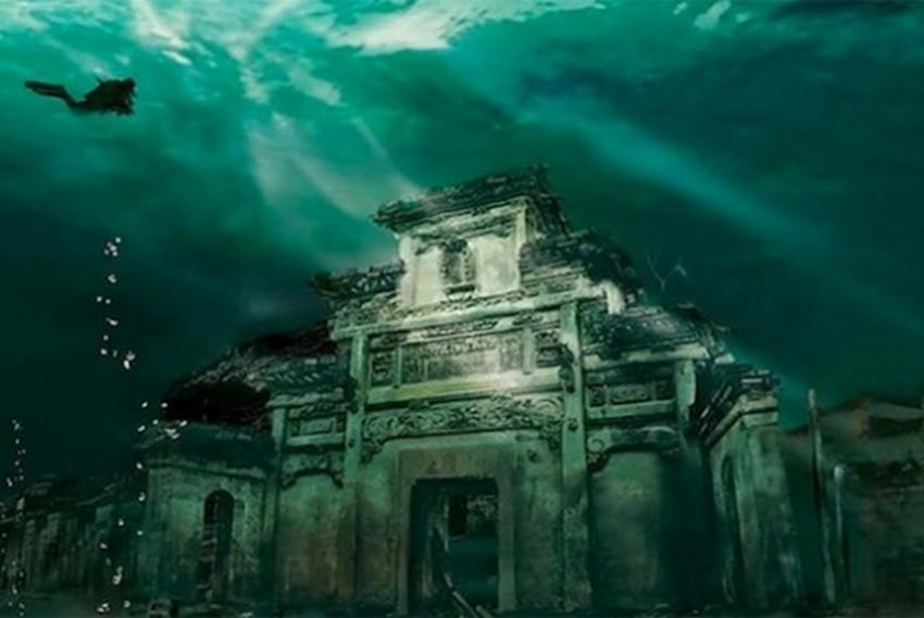 Drevni grad Shi Cheng potopljen u vodama Qiandaoa