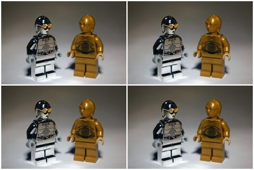 Figurice napravljene u čast tridesetogodišnje obljetnice Star Warsa