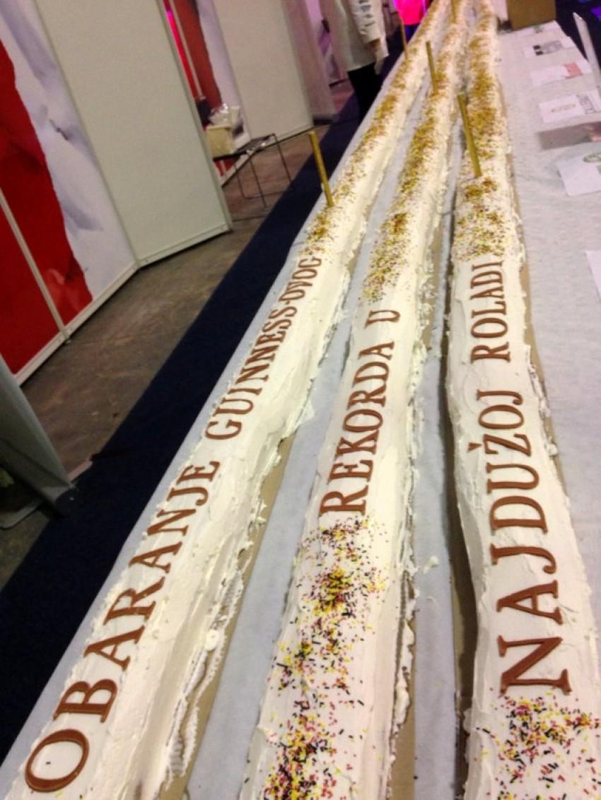 Osvojen Guinness - najduža rolada na svijetu