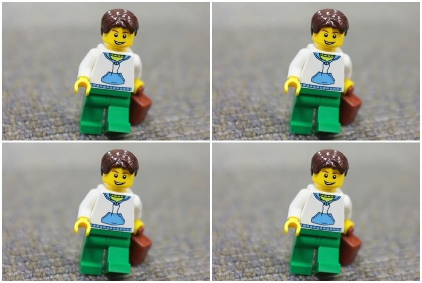 Točno određena visina od 4 lego kockice omogućuje da one lako pristaju u Lego strukture