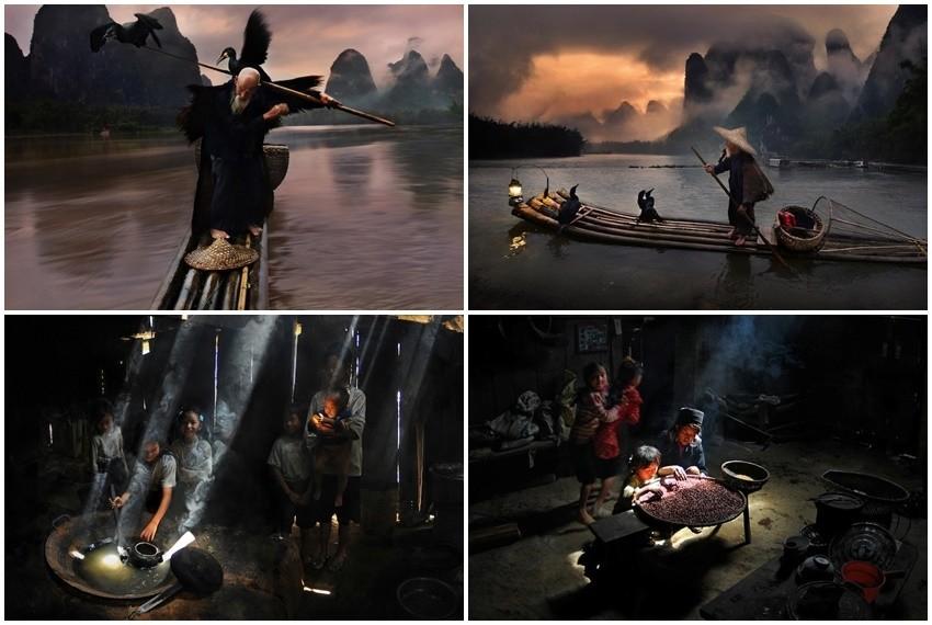 Fotografije su nastale na proputovanjima Kinom, Tajlandom, Indijom, Vijetnamom i rad su samoukog fotografa