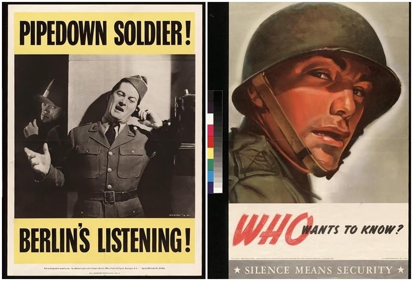 Vintage Ameri U010dki Propagandni Plakati Iz Drugog Svjetskog Rata