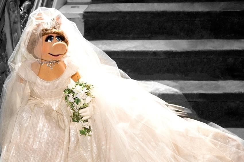 Vivienne Westwood je dizajnirala vjenčanicu za Miss Piggy!