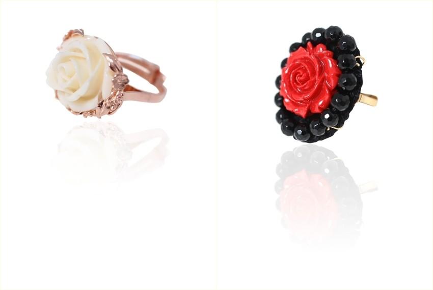 Srebrno prstenje Zlatarne Zaks, nakit za Valentinovo