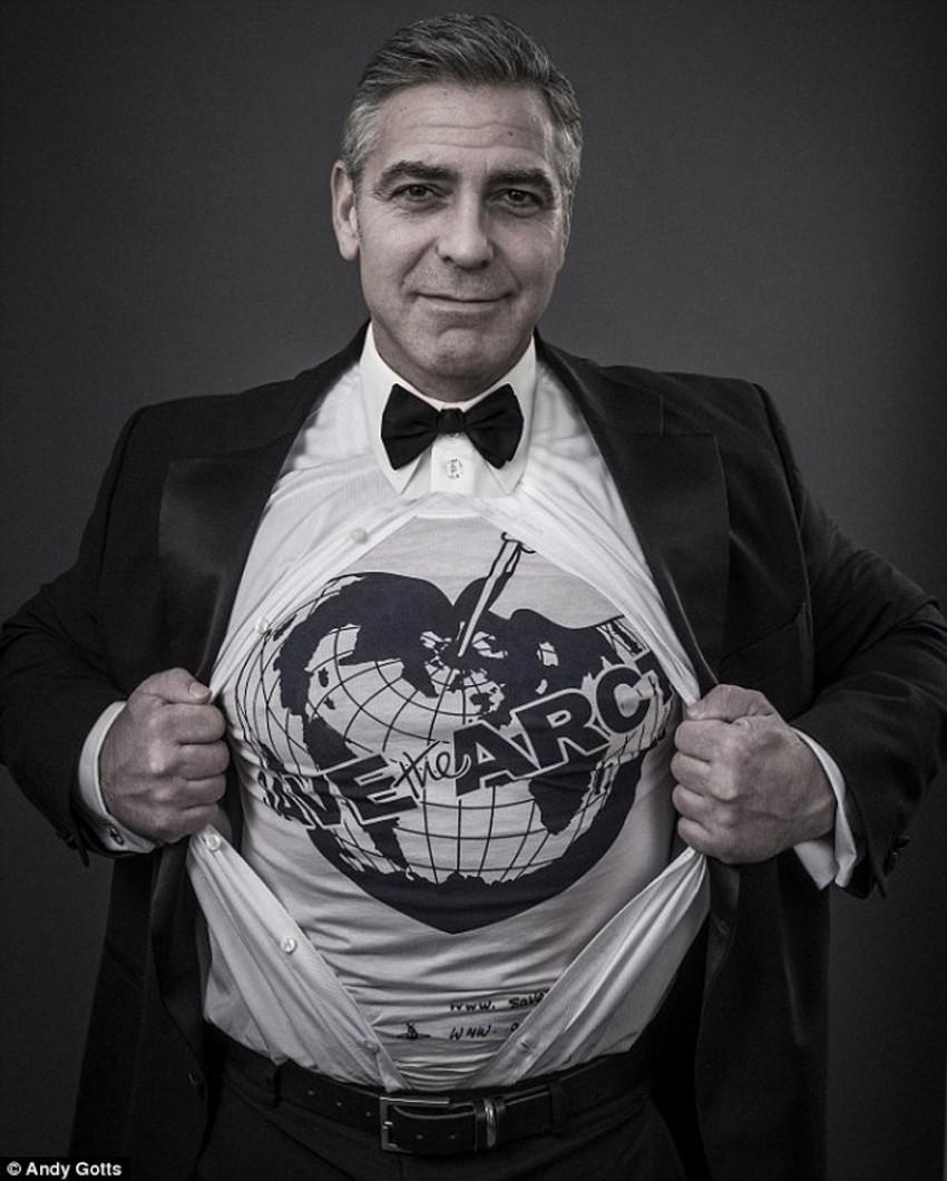 George Clooney u kampanji Vivienne Westwood