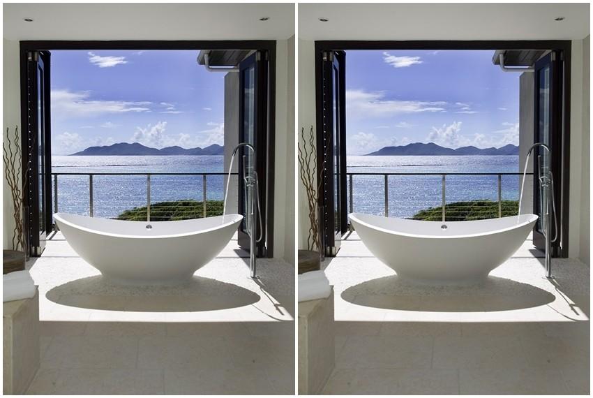 Vile su osmišljene kao spoj tadicionalne karipske arhitekture i modernog dizajna