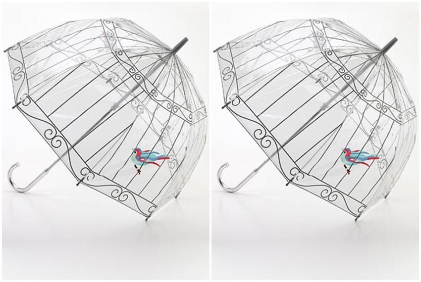 Dizajnerski kišobran tvrtke Fulton Umbrellas i Lulu Guinnes