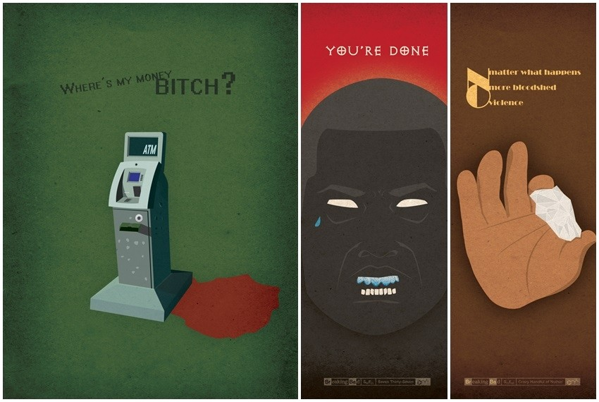 Svaki tjedan na svom blogu dizajner, Zsolt Molnar postavlja nove plakate epizoda