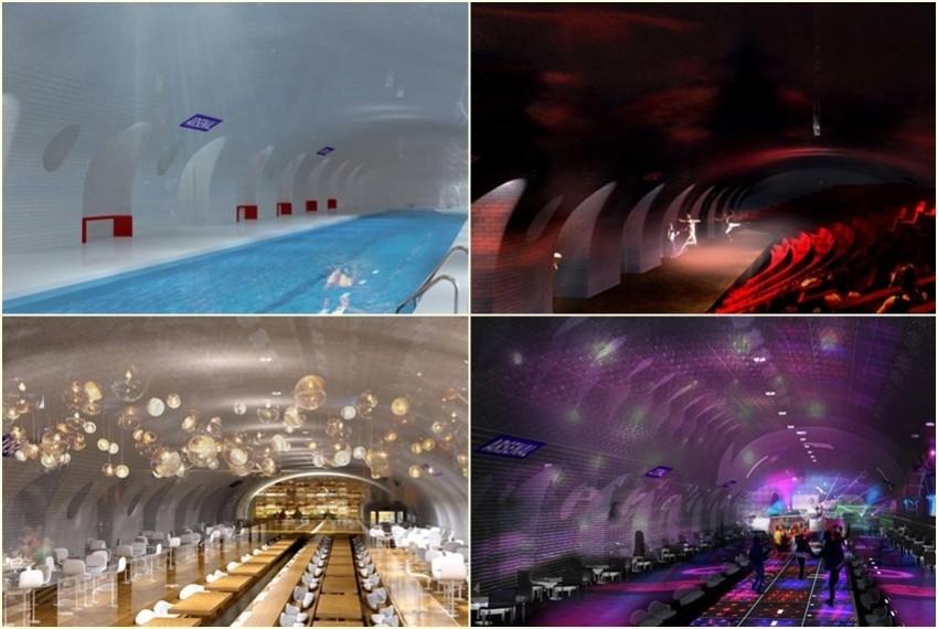 Projekt redizajna mariških metro stanica
