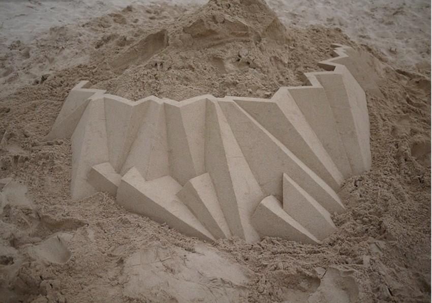 Pogledajte havajske kule u pijesku umjetnika Calvina Seiberta!