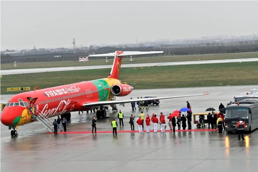 FIFA-in trofej stigao posebnim zrakoplovom u Zagreb