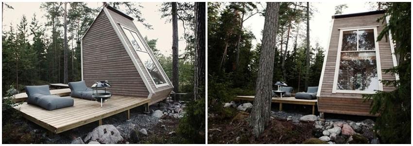 Biste li voljeli imati svoju Nido kabinu u šumi?