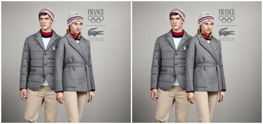 Uniforma francuskog tima za ZOI u Sochiju