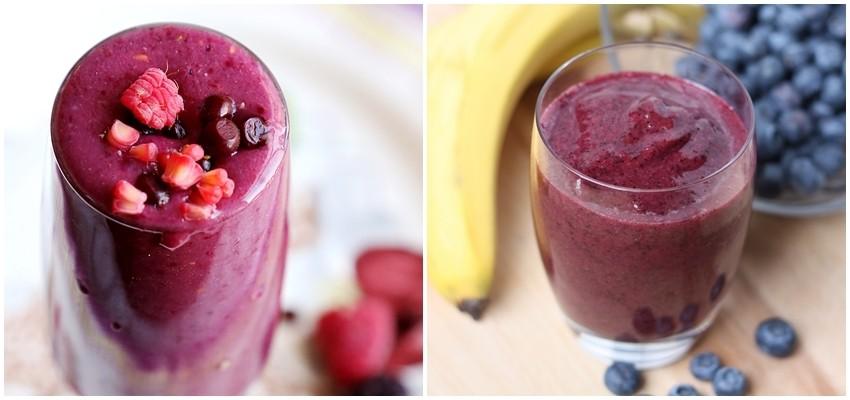 7 dana, 7 zdravih doručaka: Smoothie od banane i miješanog bobičastog voća