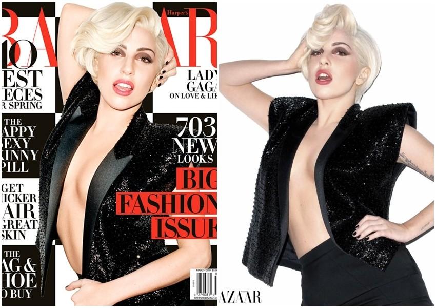Lady Gaga pozirala Terryju Richardsonu za Harper's Bazaar