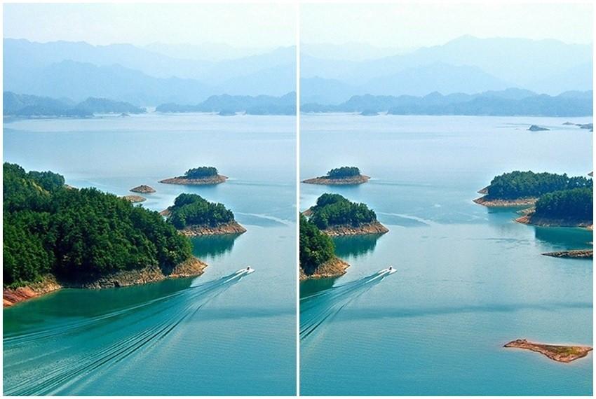 Jezero Qindao u kineskoj pokrajini Zhejiang