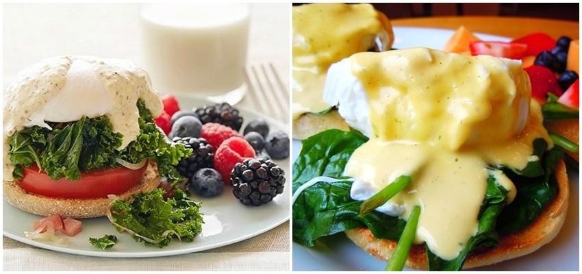 7 dana, 7 zdravih doručaka: Jaja Benedikt s keljem i rajčicom