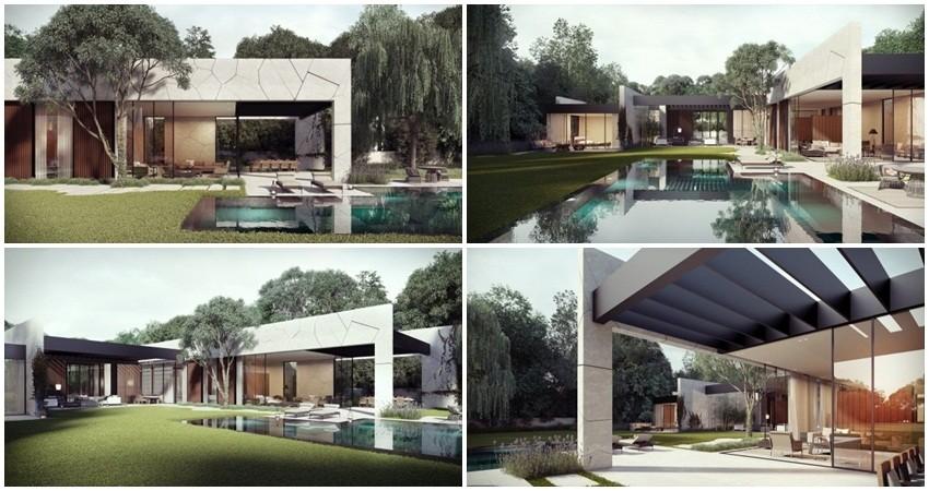 Kamena kuća s wow efektom